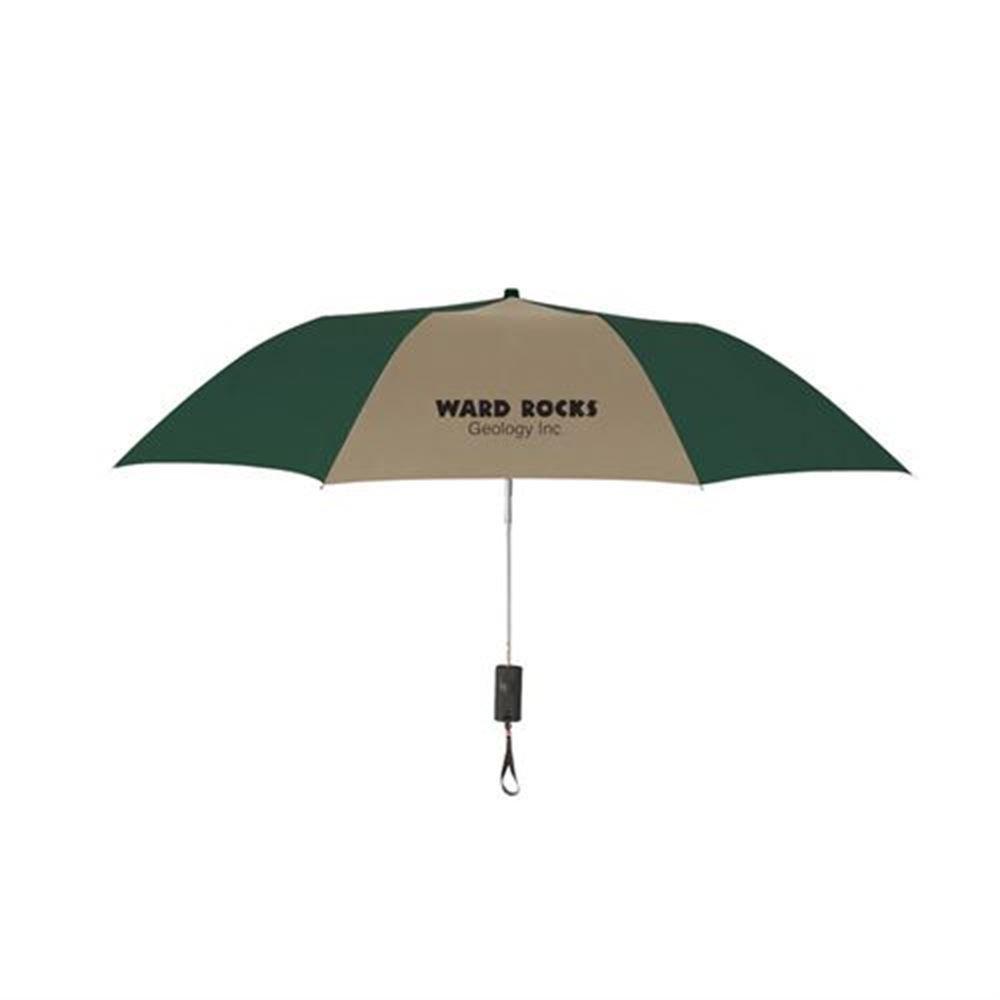 """44"""" Arc Auto-Open Telescopic Folding Umbrella - Personalization Available"""
