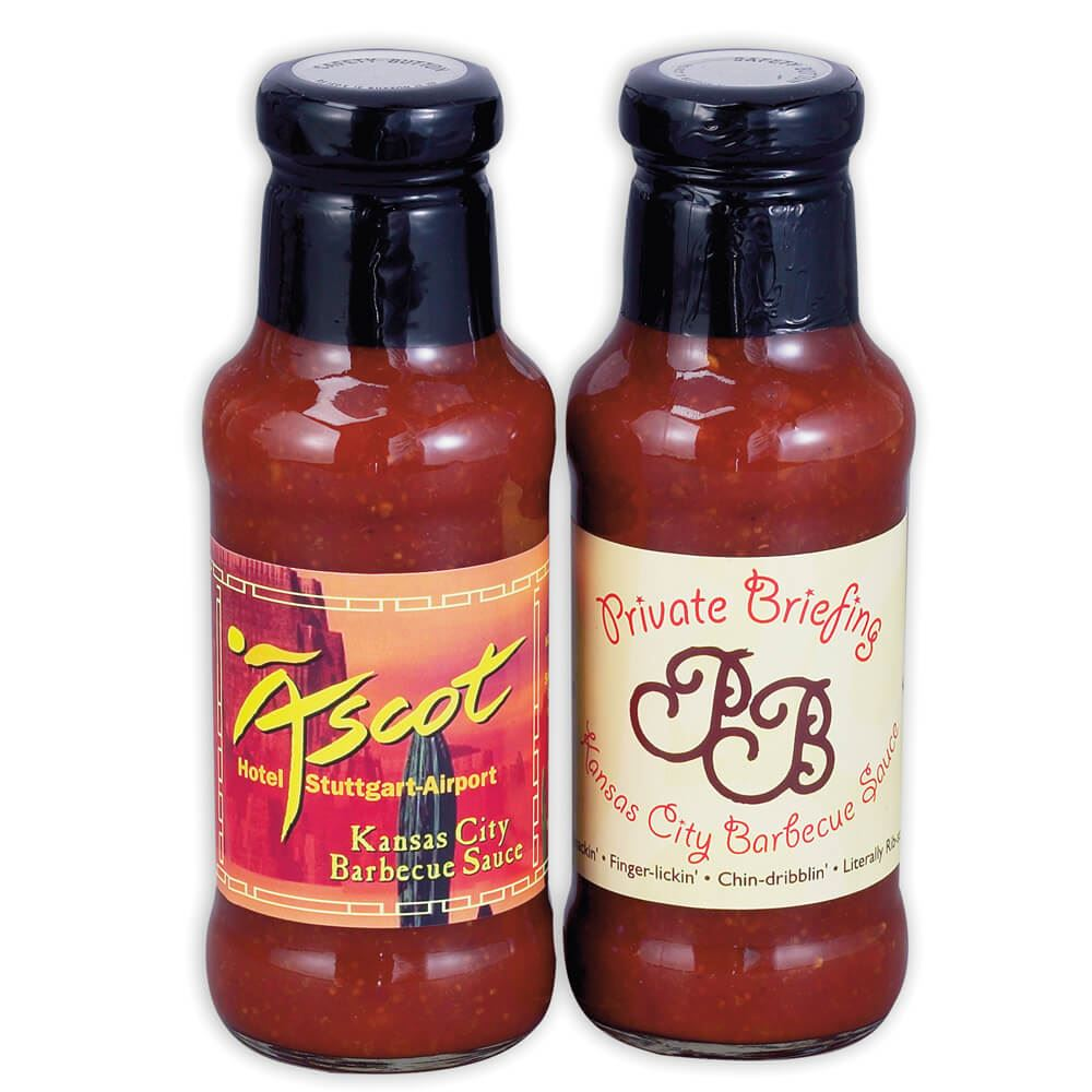 Gourmet Barbecue Sauce 12-oz. Bottle - Personalization Available