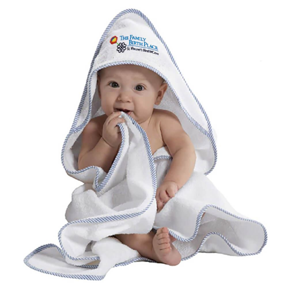 Hooded Baby Towel - Personalization Available