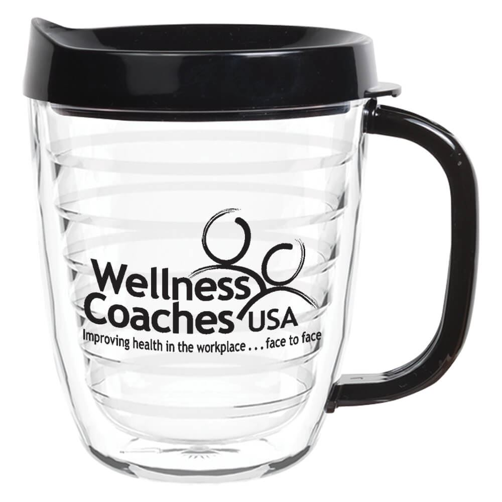 Double-Wall Coffee Mug 12-oz. - Personalization Available