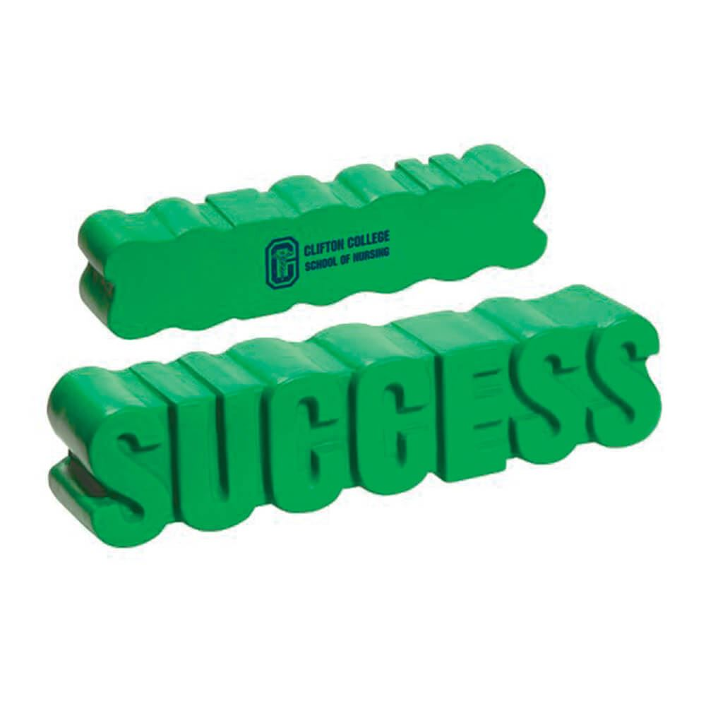 Success Word-Tastic Stress Reliever - Personalization Available
