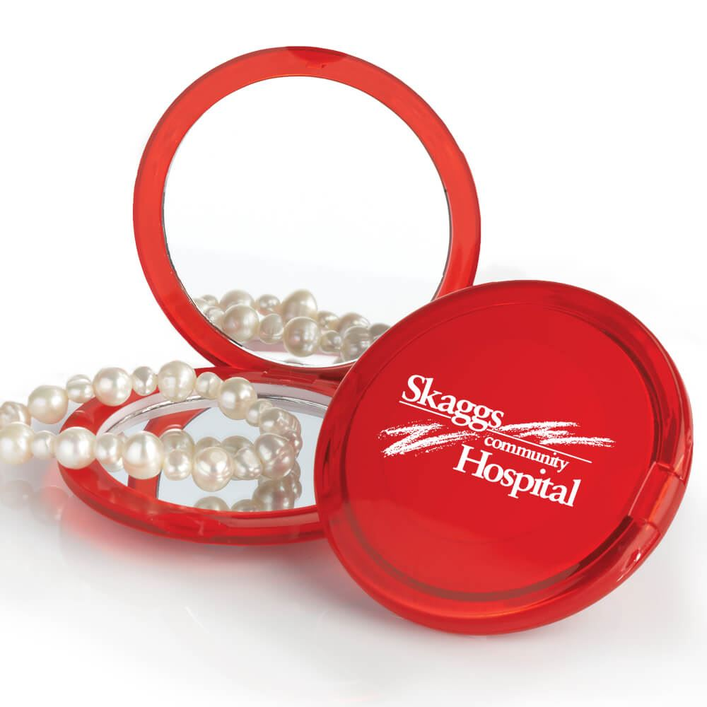 Compact Mirror (Magnifying) - Personalization Available