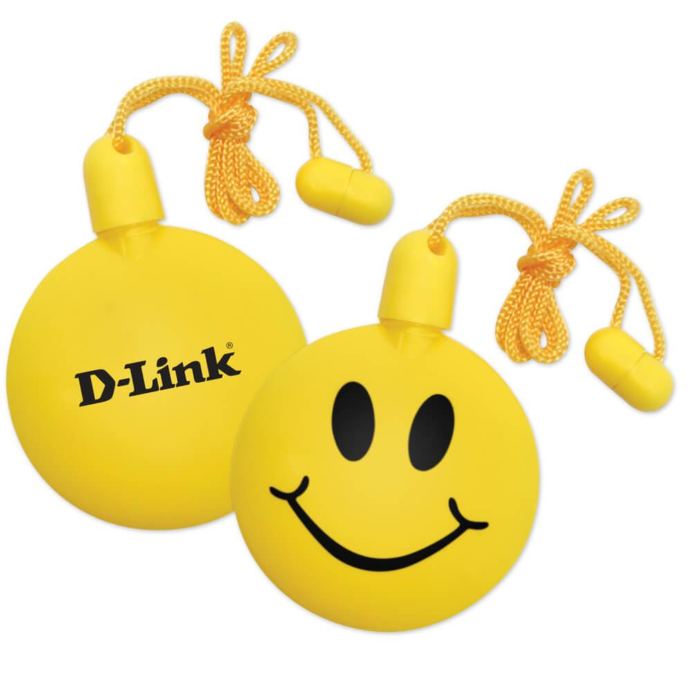 Smiley Emoji Bubble Necklace - Personalization Available