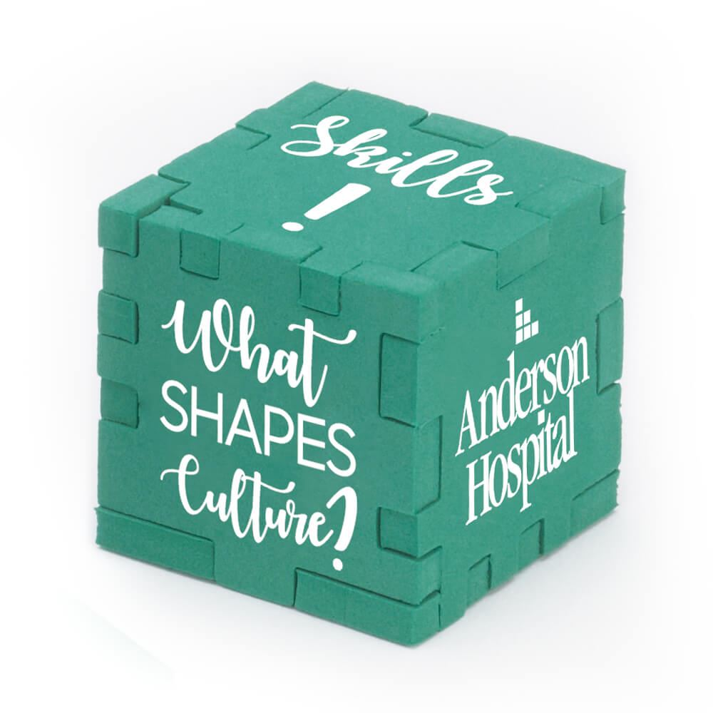 Foam Puzzle Cube - Personalization Available