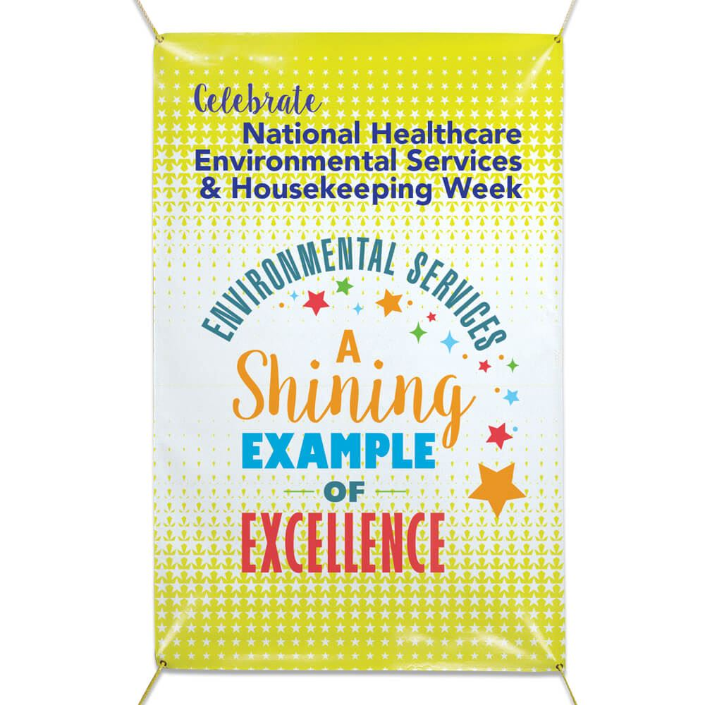 Marvelous National Healthcare Environmental Services Housekeeping Week Vinyl Banner Home Remodeling Inspirations Gresiscottssportslandcom