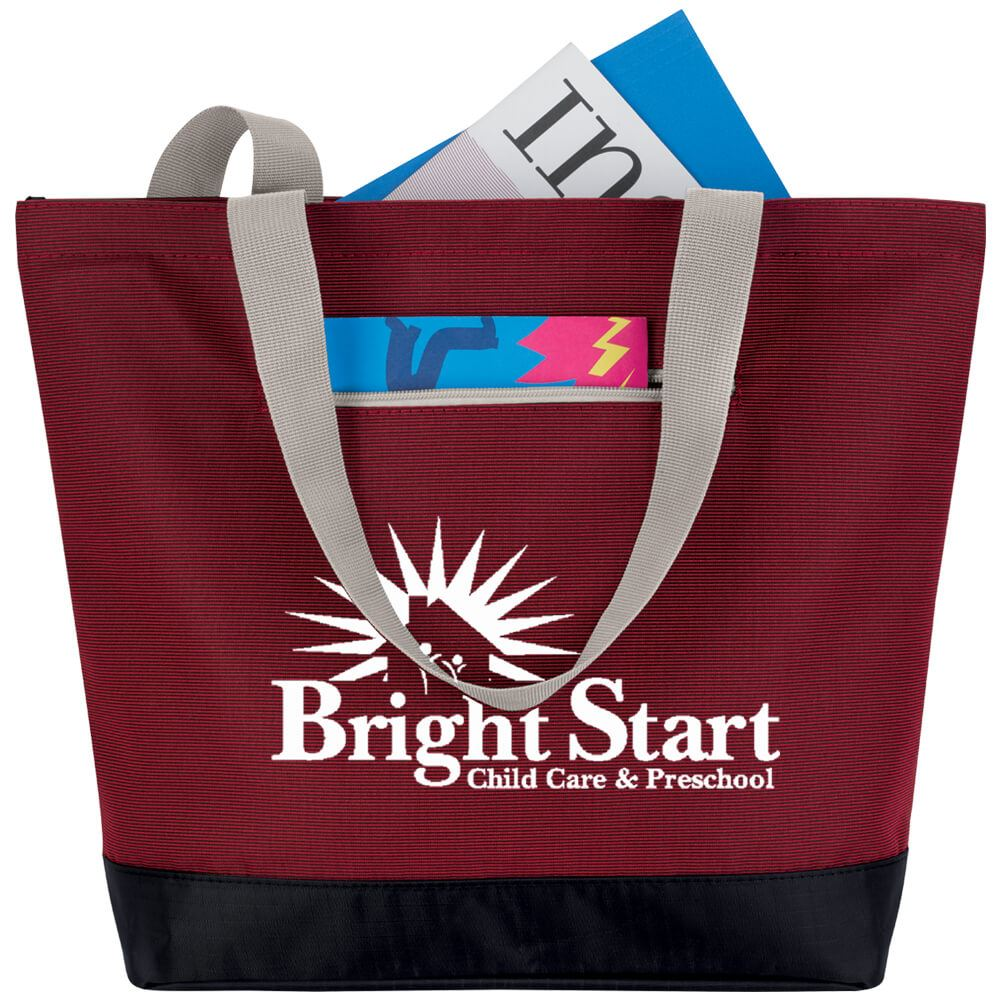 Front Pocket Tote - Personalization Available