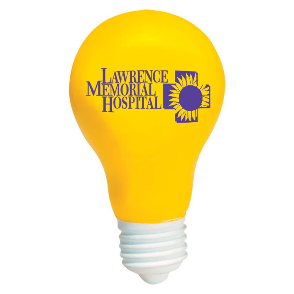Light Bulb Stress Reliever - Personalization Available