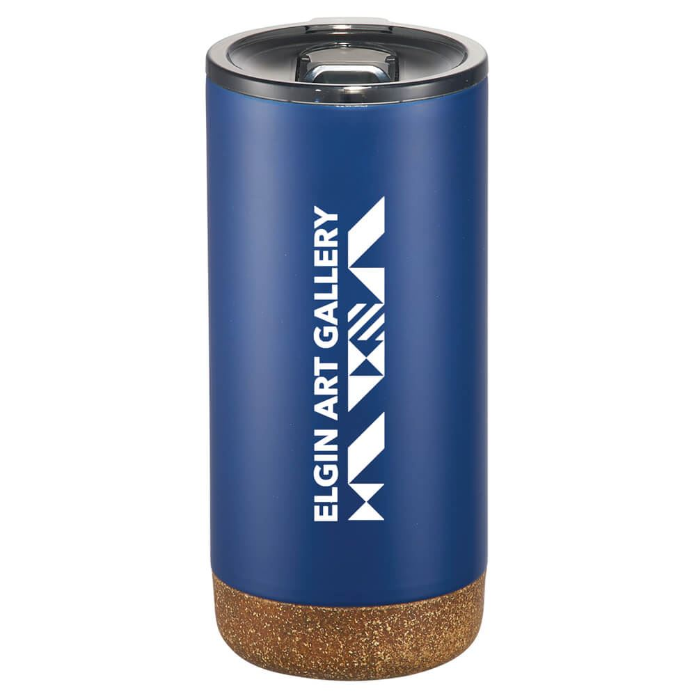 Valhalla Copper Vacuum Insulated Tumbler With Cork 16-Oz. - Personalization Available