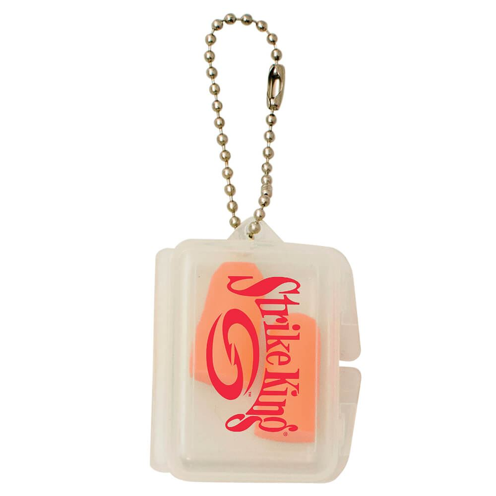 Ear Plugs With Rectangle Case - Personalization Available