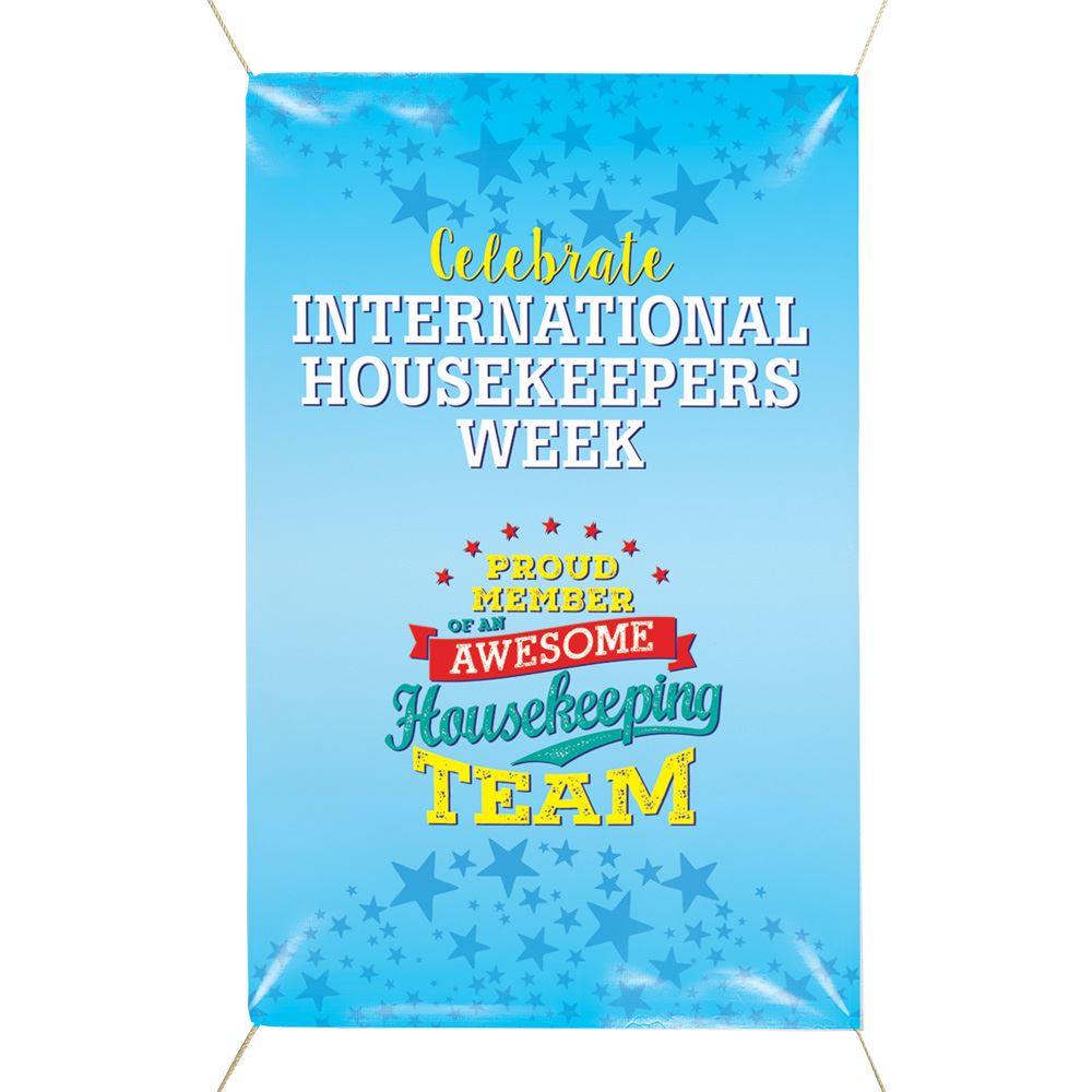 Tremendous International Housekeepers Week Vinyl Banner Home Remodeling Inspirations Gresiscottssportslandcom