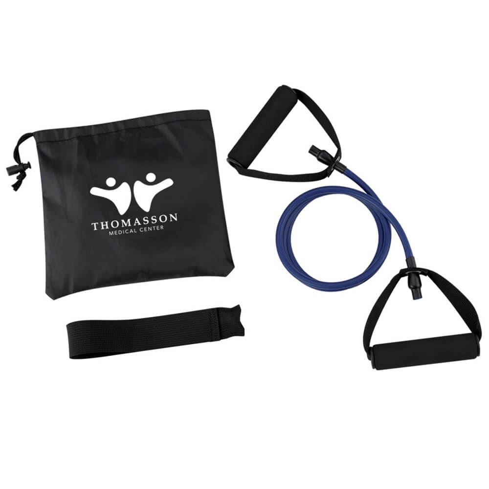 Yoga Stretch Band In Carry Pouch - Personalization Available