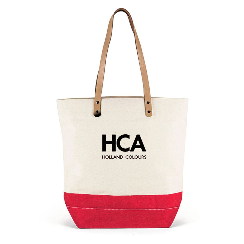 Riviera Cotton Shoulder Tote - Personalization Available