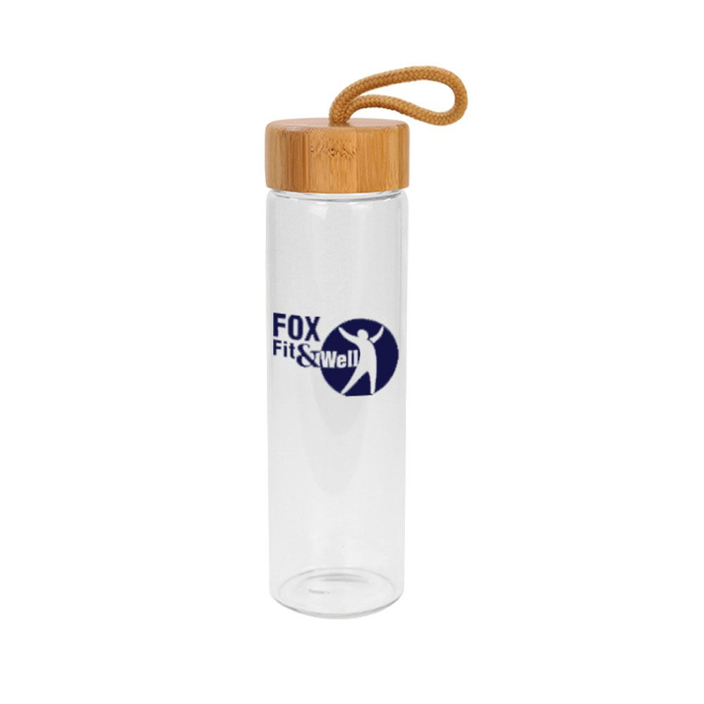 Botanical Glass Bottle 20-oz. - Personalization Available
