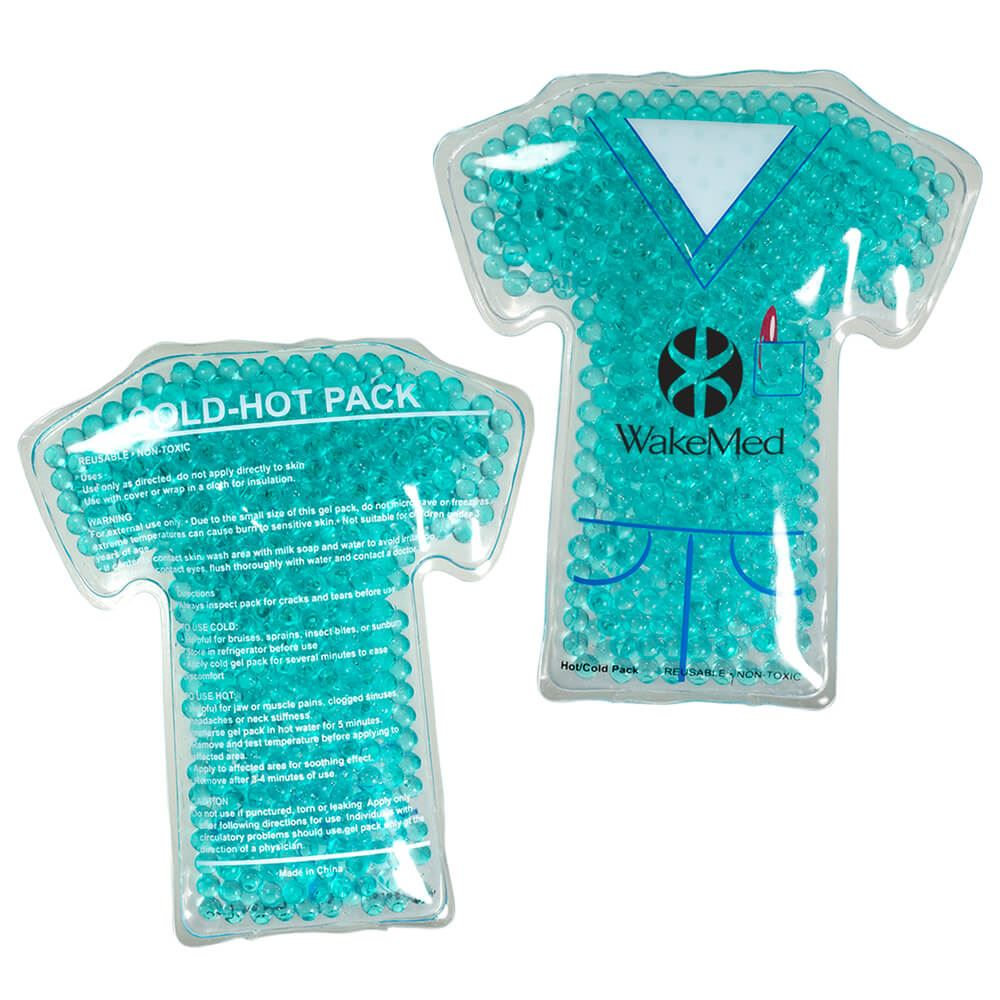Nurse Gel Beads Reusable Hot/Cold Pack - Personalization Available