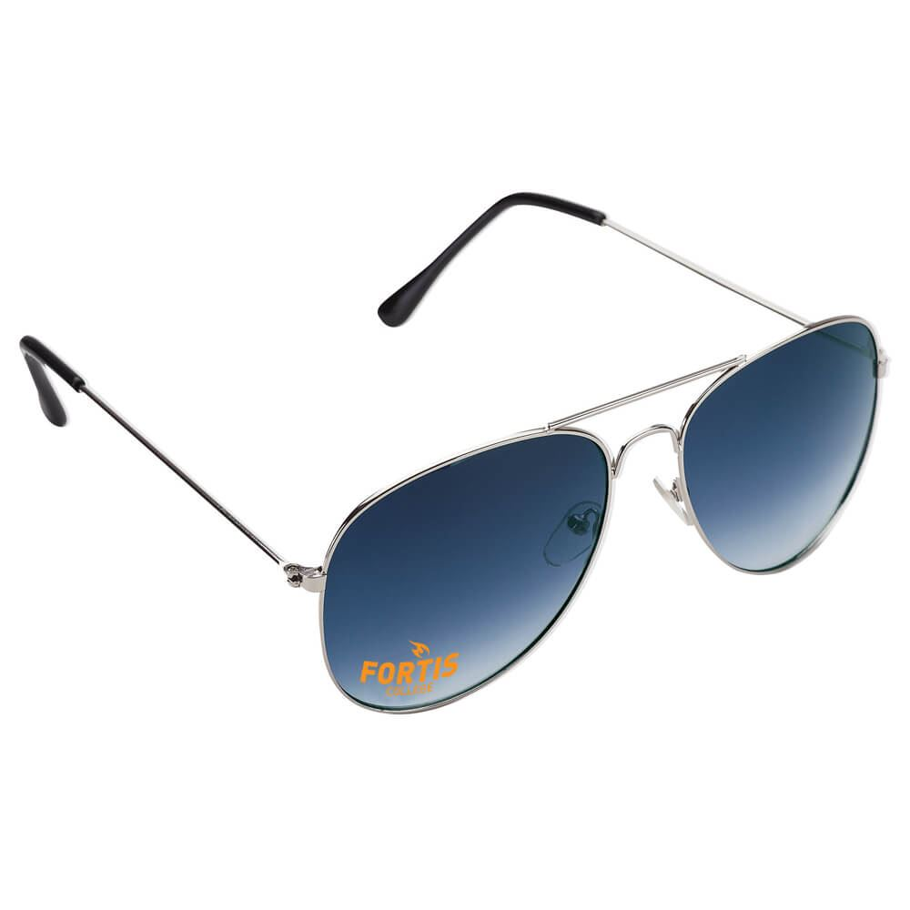 Aviator Silver Sunglasses - Personalization Available