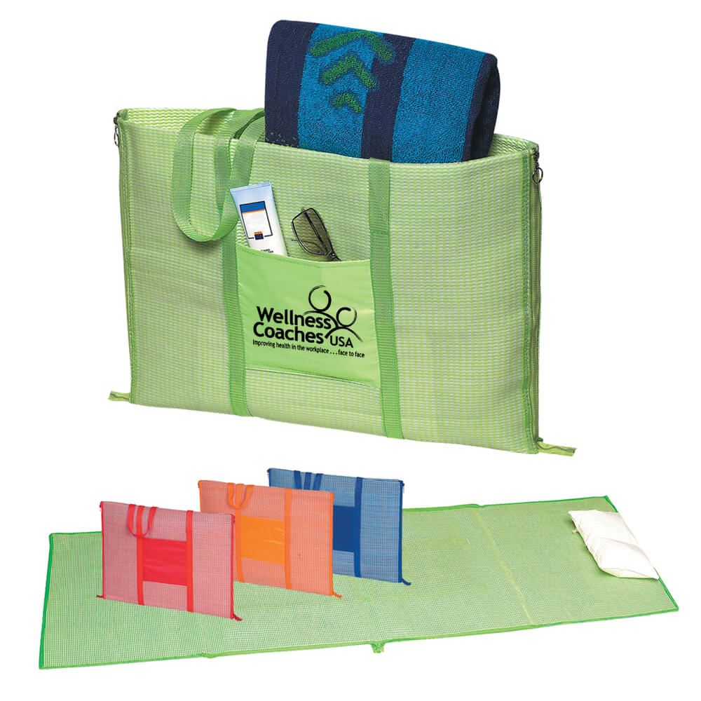 Beach Buddy Mat Tote - Personalization Available
