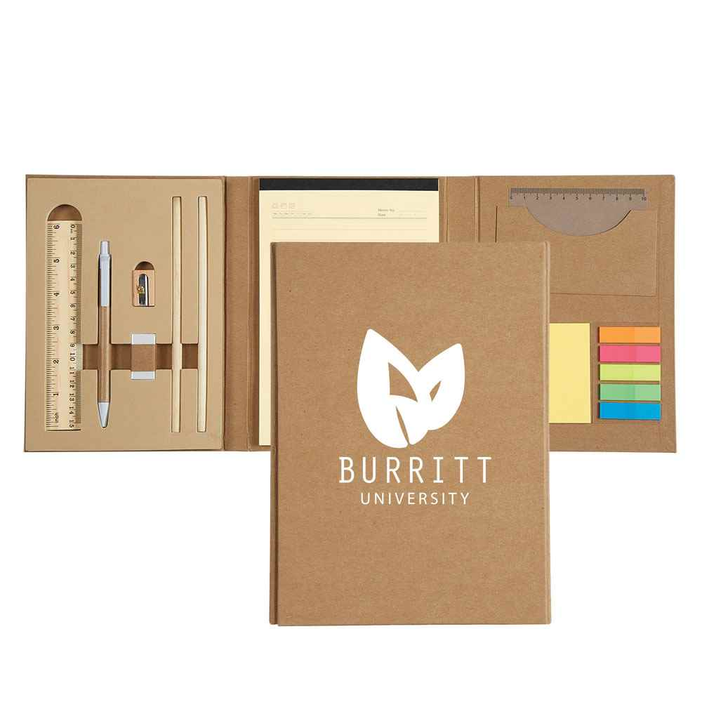 Eco-Inspired 10-In-1 Stationery Gift Set - Personalization Available