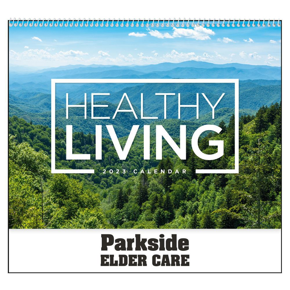 Healthy Living 2021 Calendar - Spiral - Personalization Available