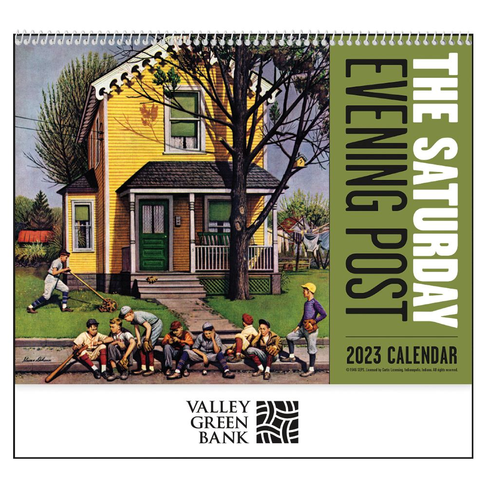 The Saturday Evening Post 2021 Calendar - Spiral - Add Your Personalization