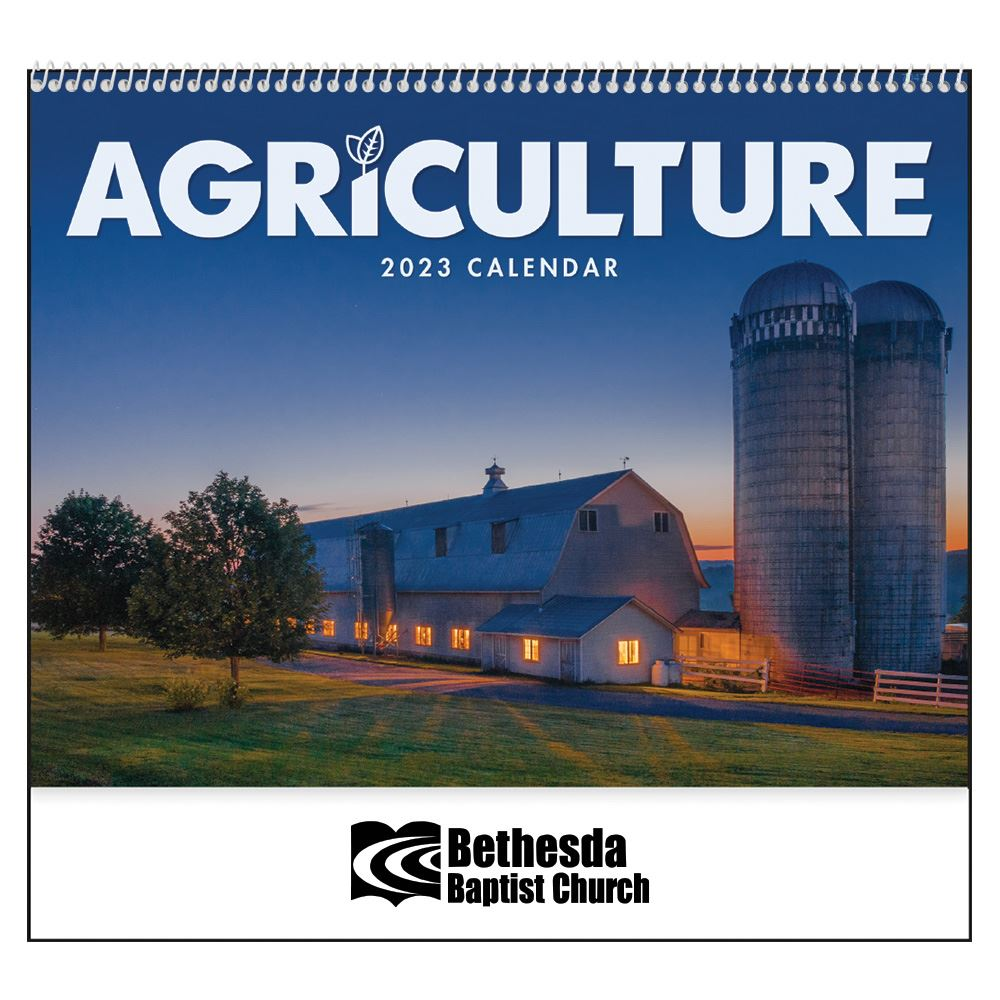 2022 Agriculture Wall Calendar - Spiral -� Add Your Personalization