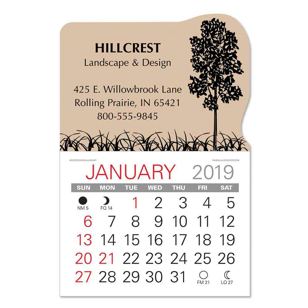 2019 Value Stick-Up Landscape Calendar - Personalization Available