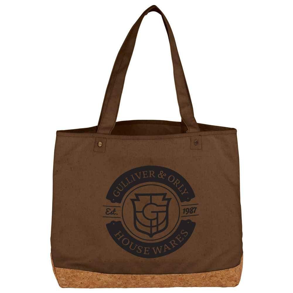 Napa Cotton and Cork Shopper Tote - Personalization Available