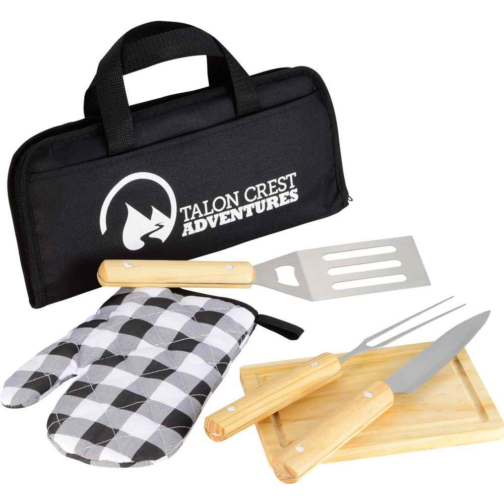 5-Piece BBQ Set - Personalization Available