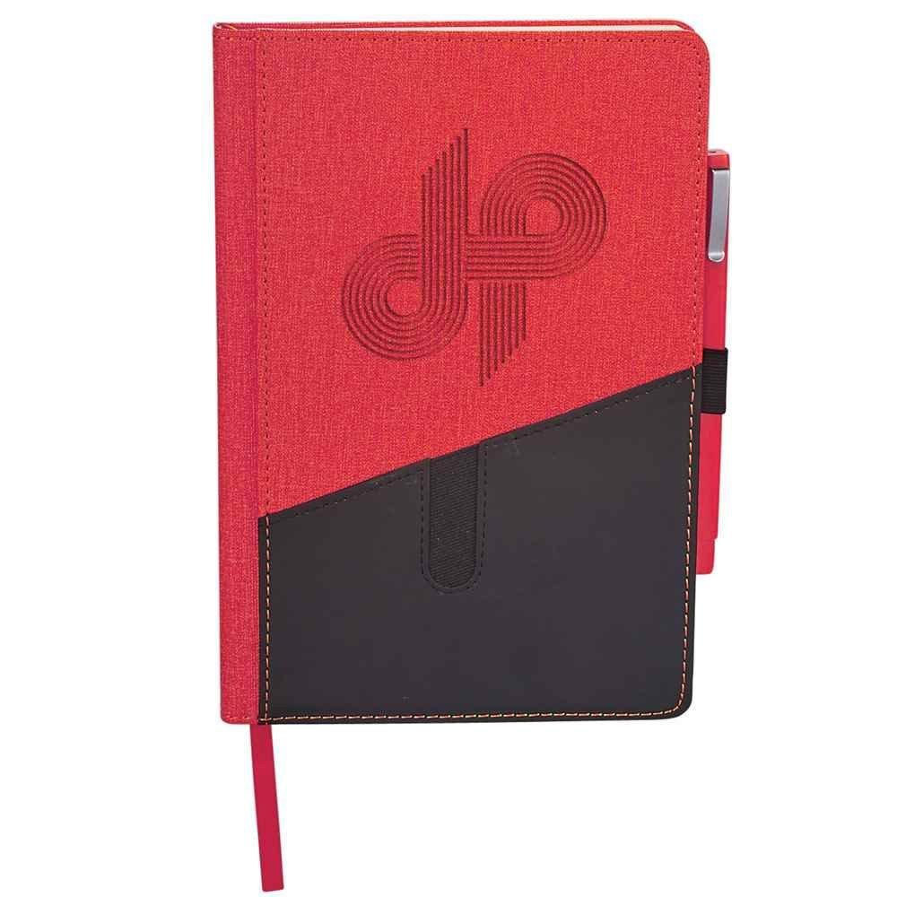 Siena Heathered Bound JournalBook Bundle Set - Personalization Available
