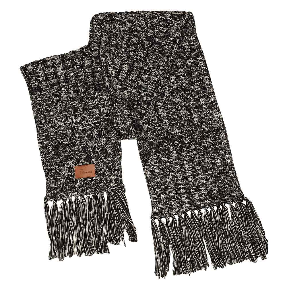 Leeman™ Heathered Knit Scarf - Personalization Available