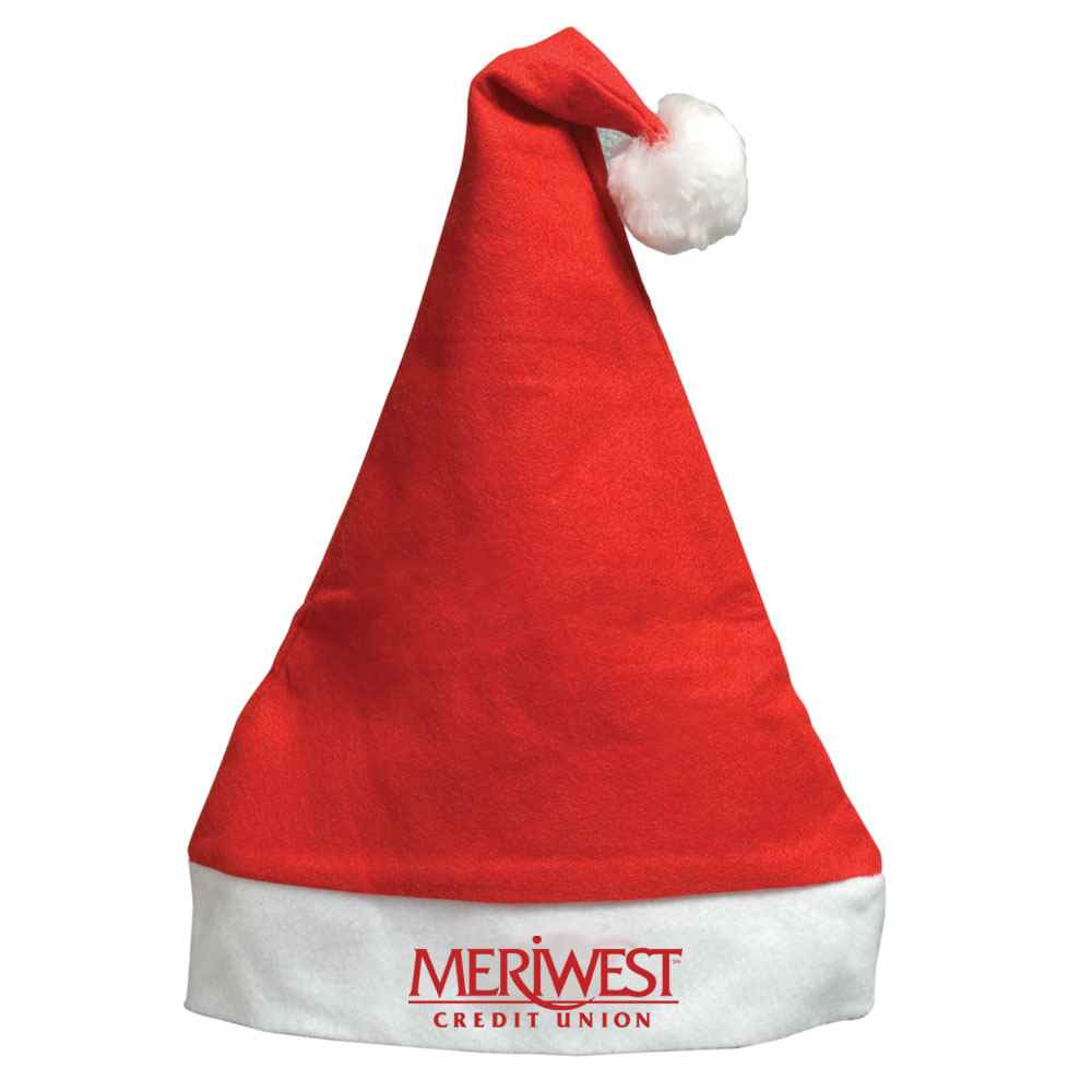 Felt Santa Hat - Personalization Available