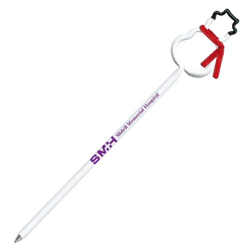 Bentcil® Snowman Pen - Personalization Available