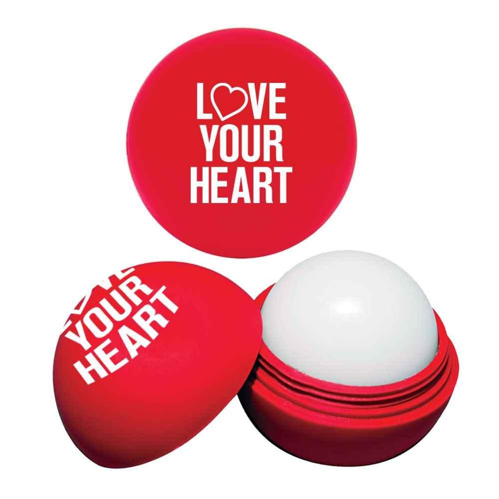 Love Your Heart Lip Balm Moisturizer Ball