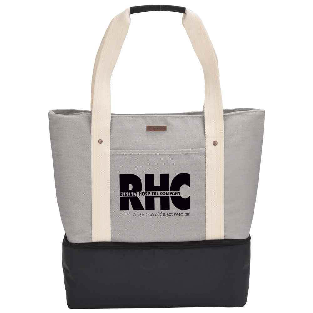 Cutter & Buck® Cotton Boat Tote Cooler 16-Oz.