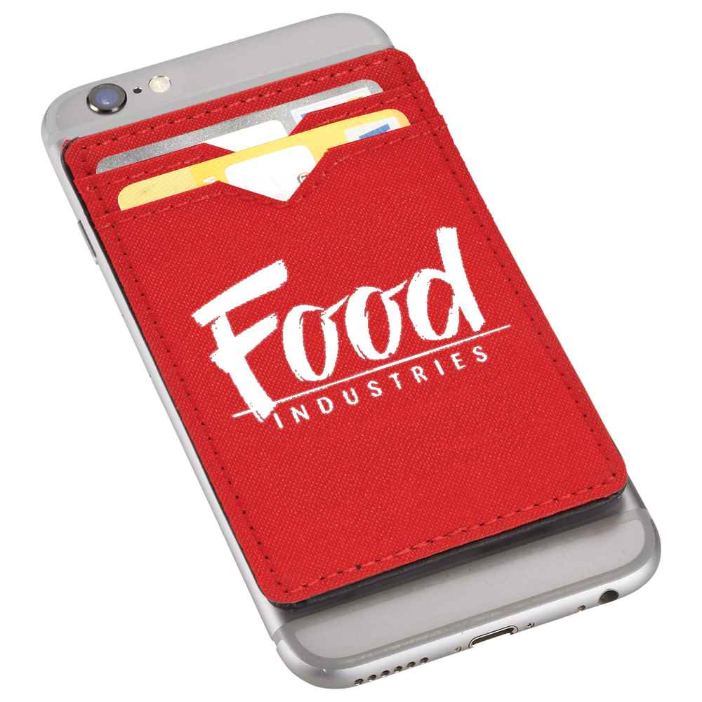 Dual Pocket RFID Phone Wallet - Personalization Available