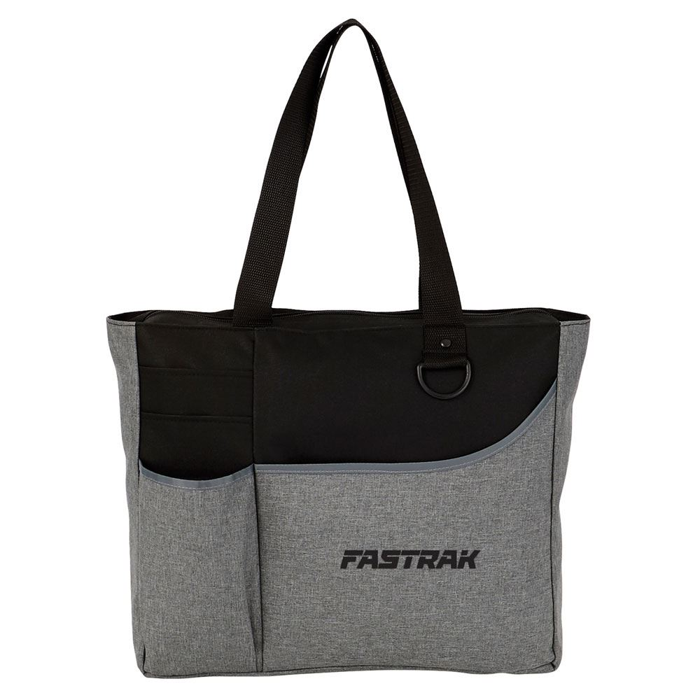 Metropolis Zippered Meeting Tote - Personalization Available
