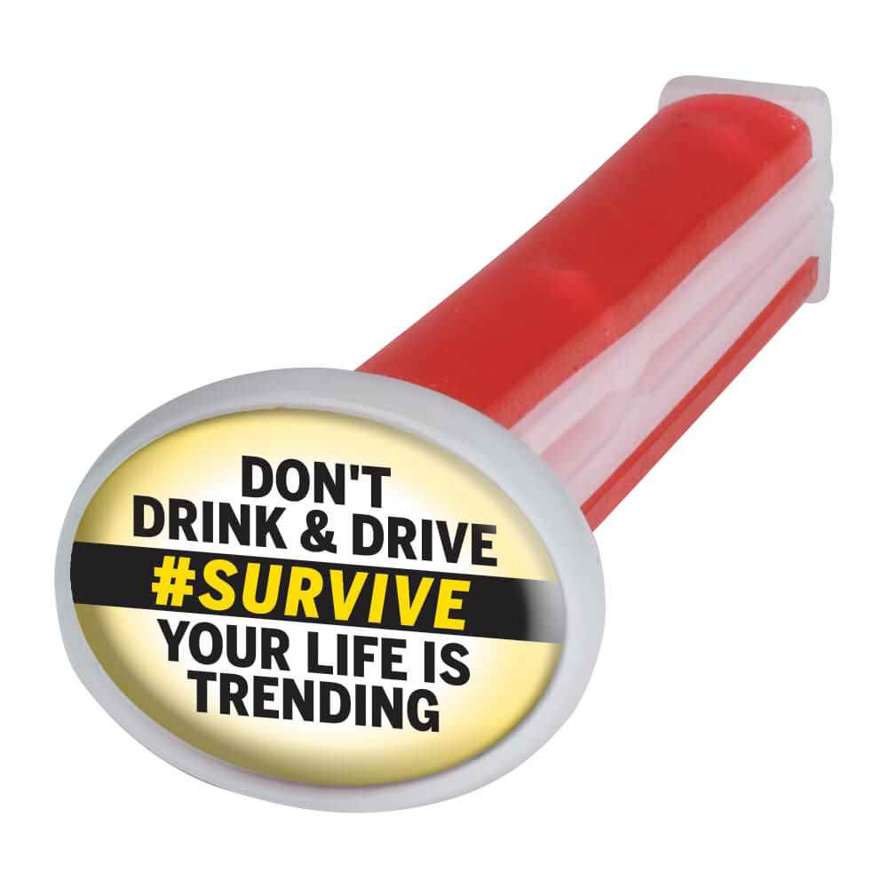 Don't Drink & Drive #Survive Your Life Is Trending Vent Stick Air Freshener