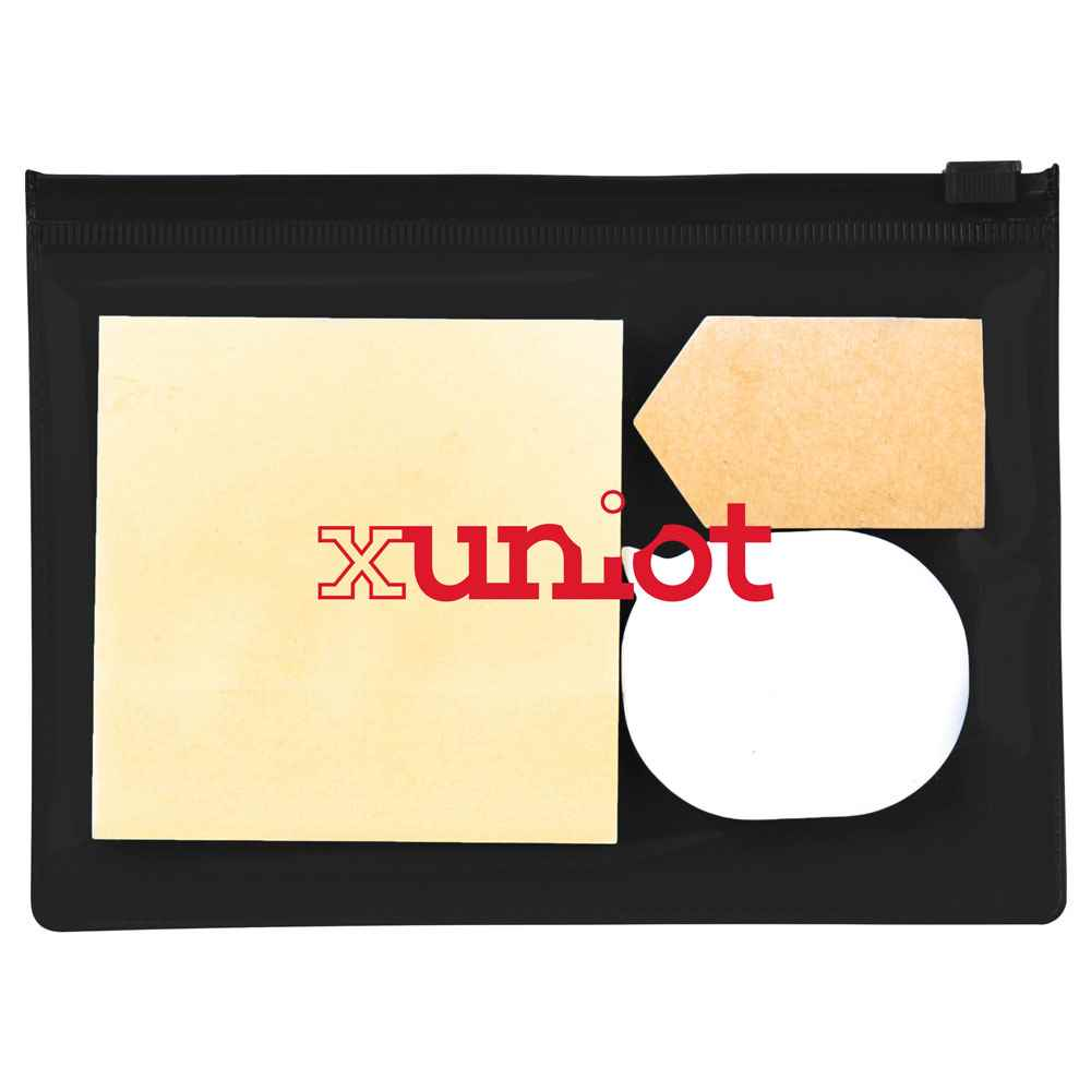 Sticky Notes In Pouch - Personalization Available