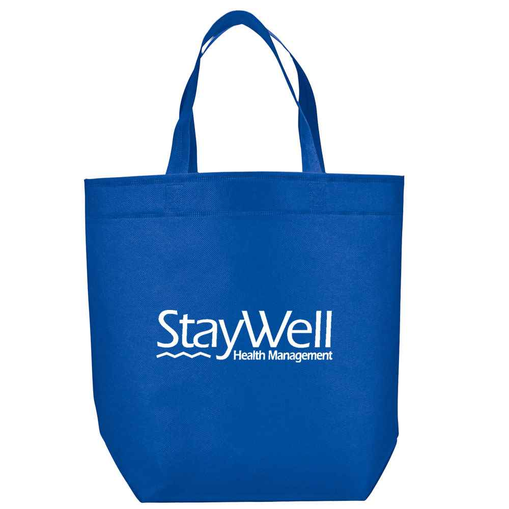 Challenger Non-Woven Shopper Tote - Personalization Available