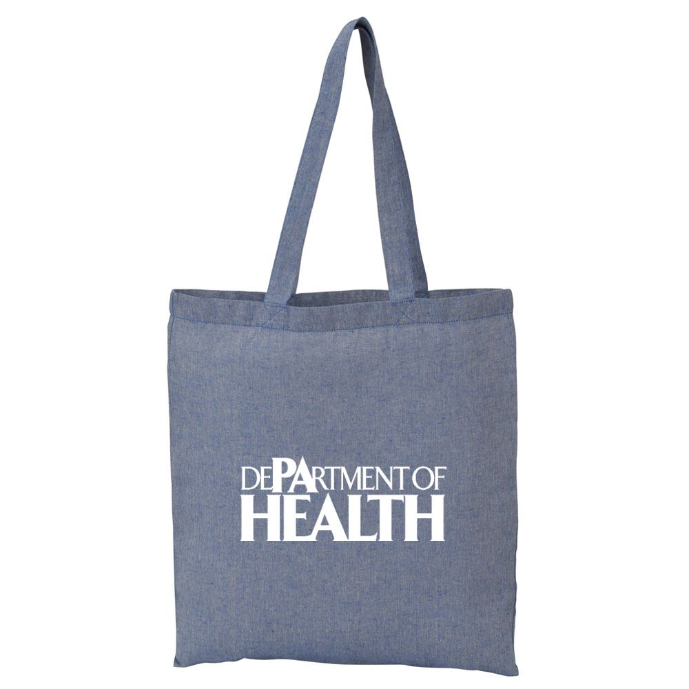 Recycled 5-oz. Cotton Twill Tote - Personalization Available
