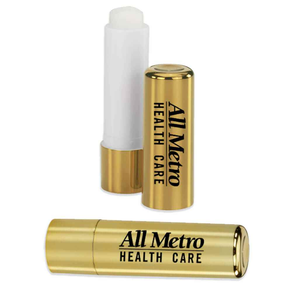Glam Metallic Lip Balm Stick - Personalization Available