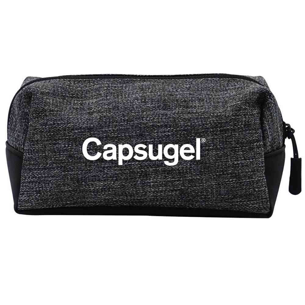 Heathered On-The-Go Pouch - Personalization Available