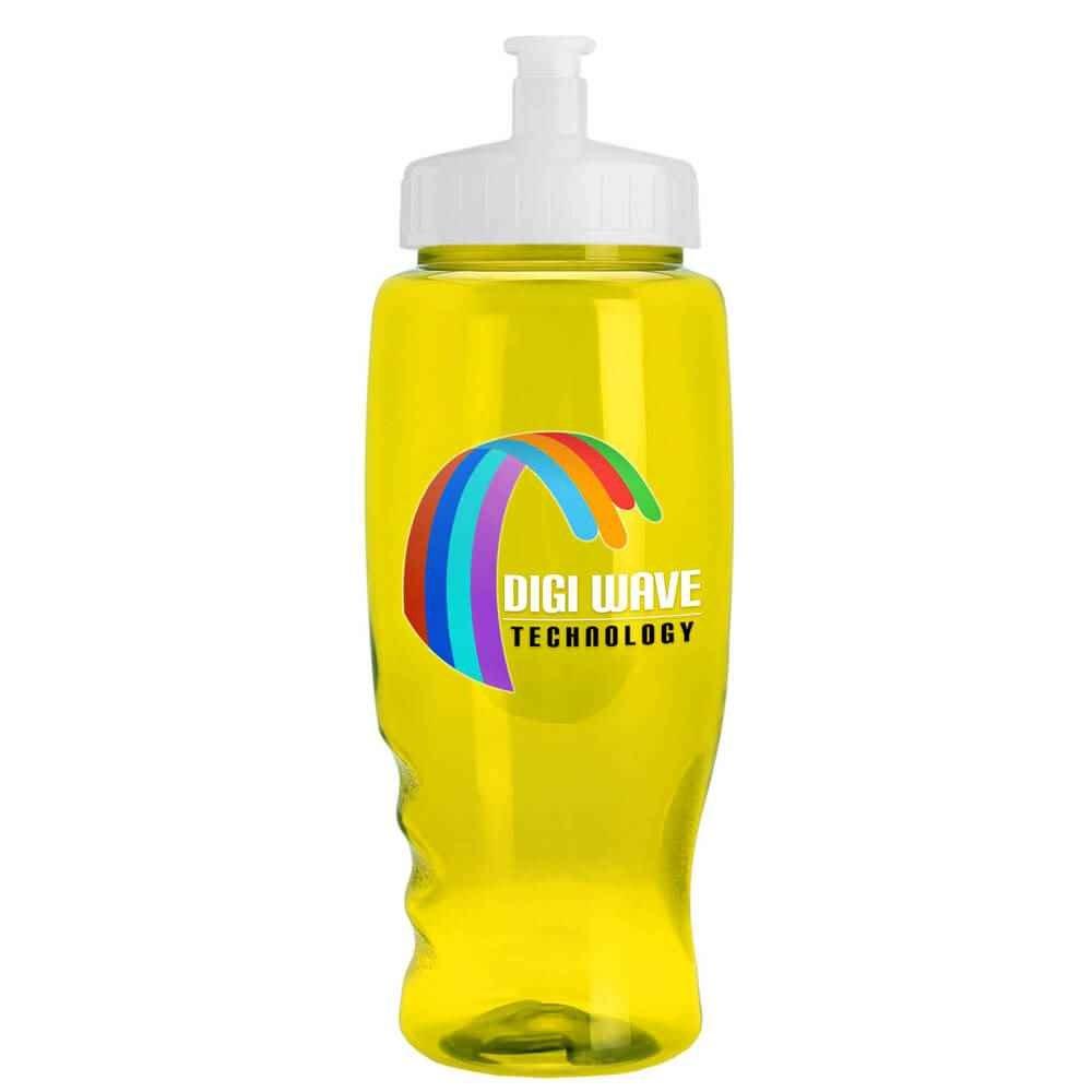 Digital Poly-Pure Transparent Bottle 27-Oz. - Personalization Available