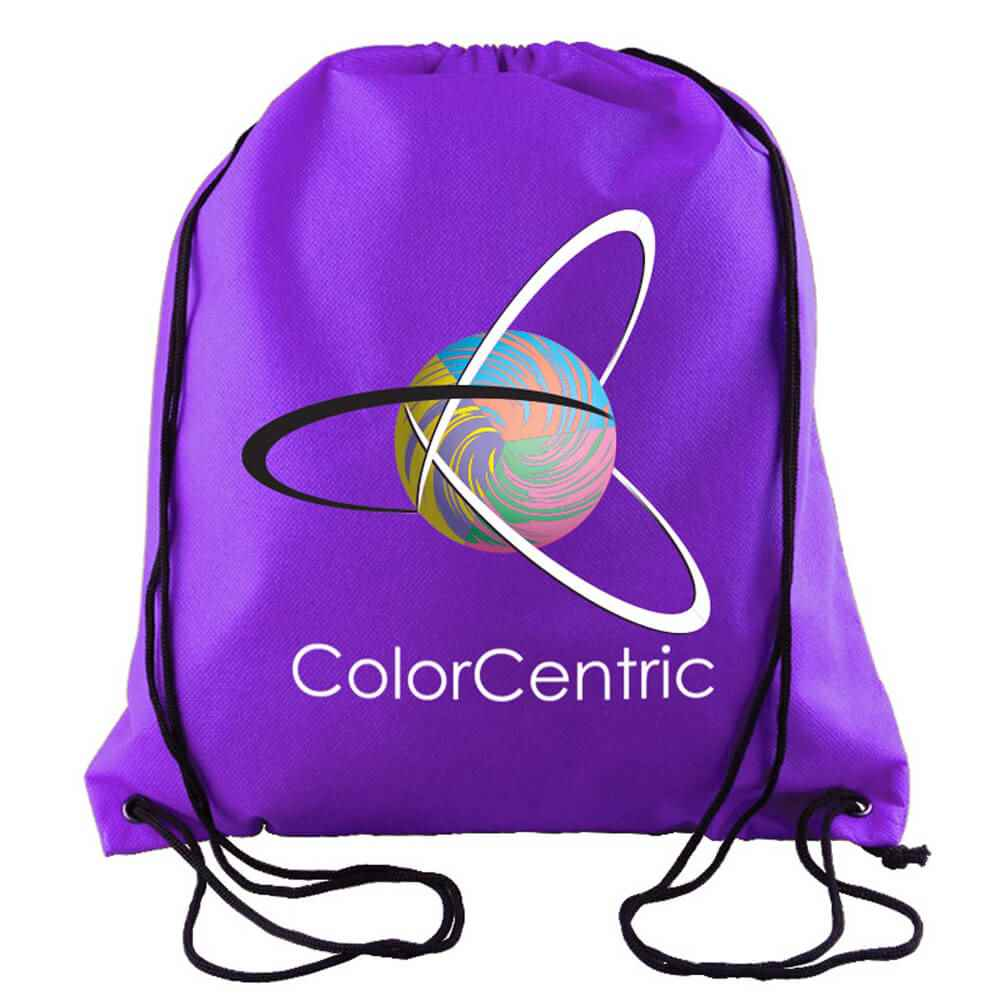Sophomore Non-Woven Drawstring Backpack - Personalization Available