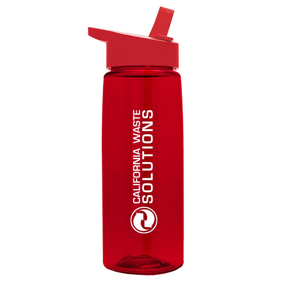Tritan™ Flair Bottle With Flip Straw Lid 26-oz. - Personalization Available