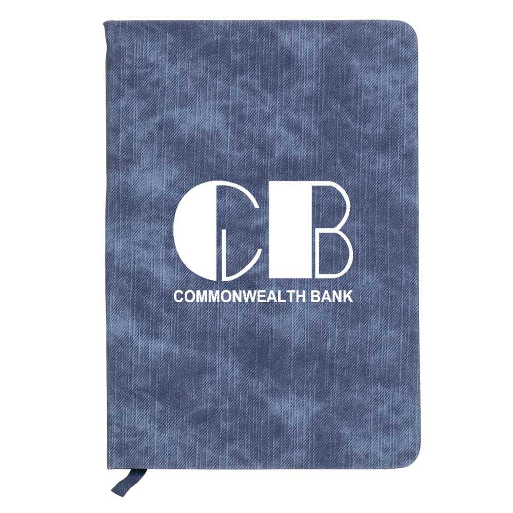 Marble Wash Notebook - Personalization Available