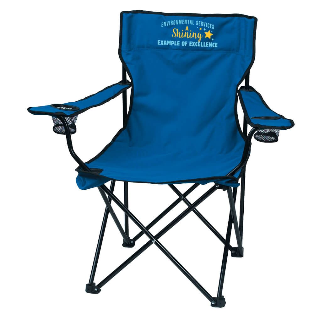 Environmental Services Folding Chair With Carrying Bag