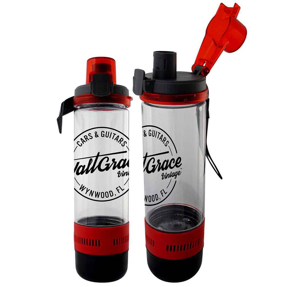 Locking Lid Bluetooth® Speaker Bottle 18-Oz. - Personalization Available