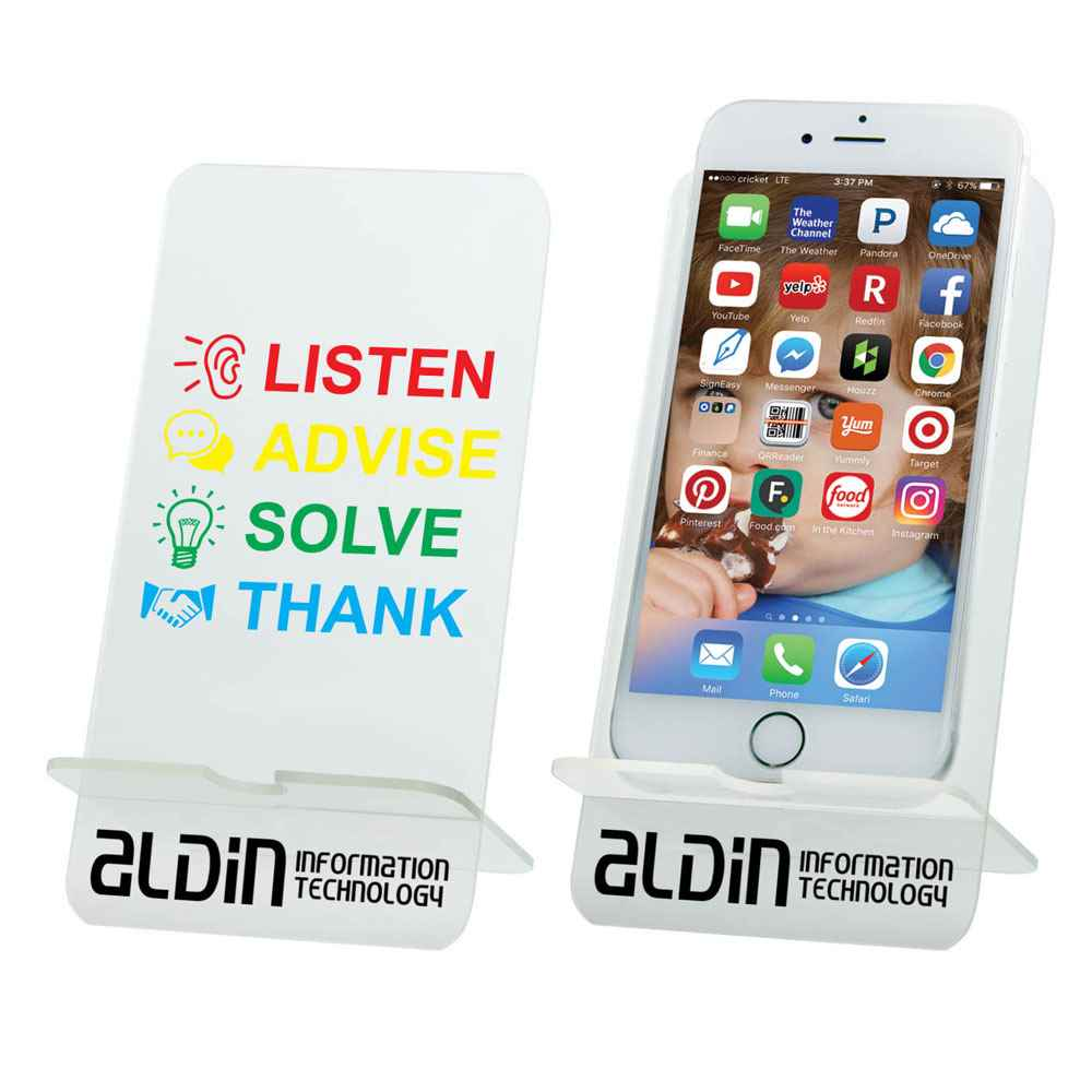 Acrylic Smartphone Stand - Personalization Available