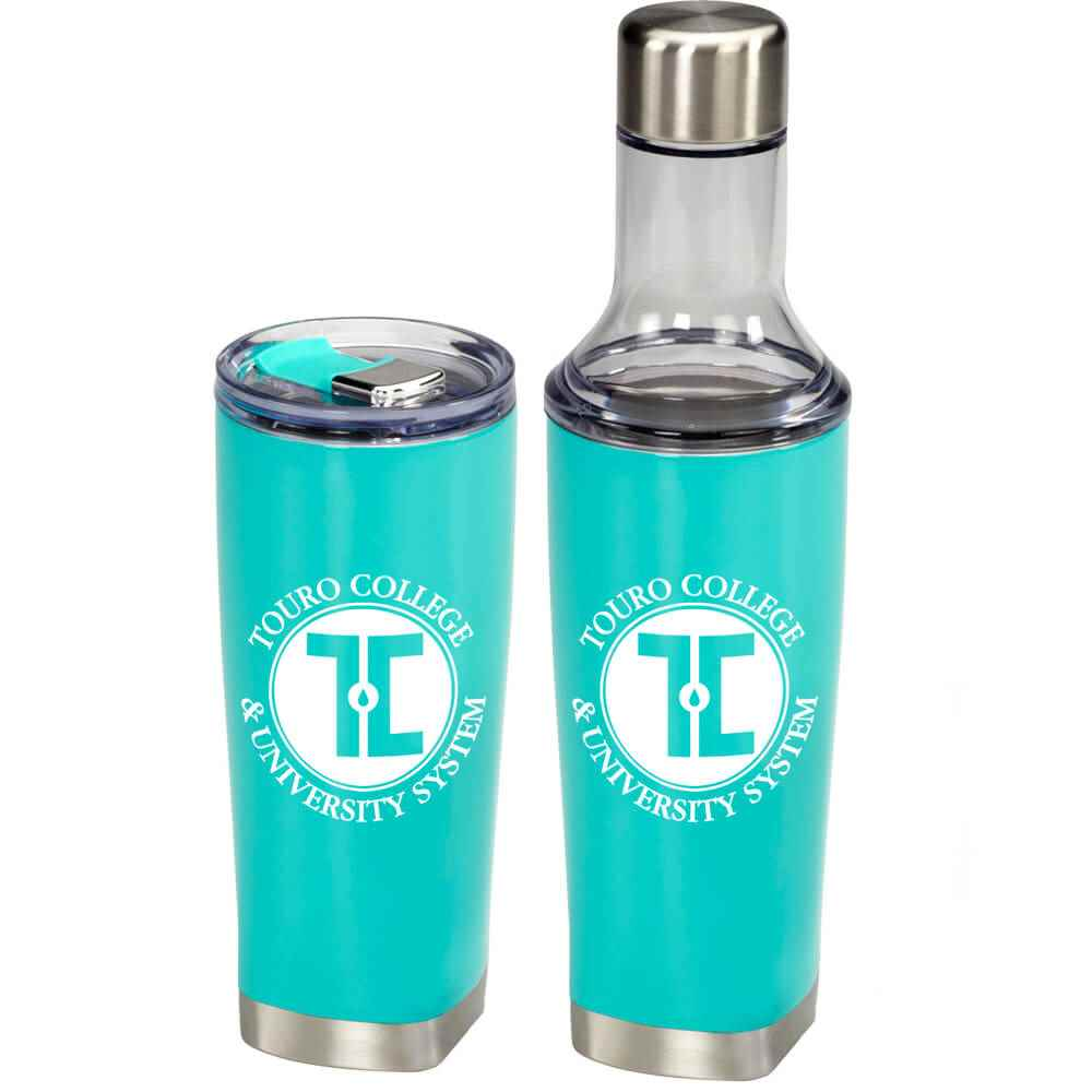 2-in-1 Copper Vacuum Bottle & Tumbler 22-Oz. - Personalization Available