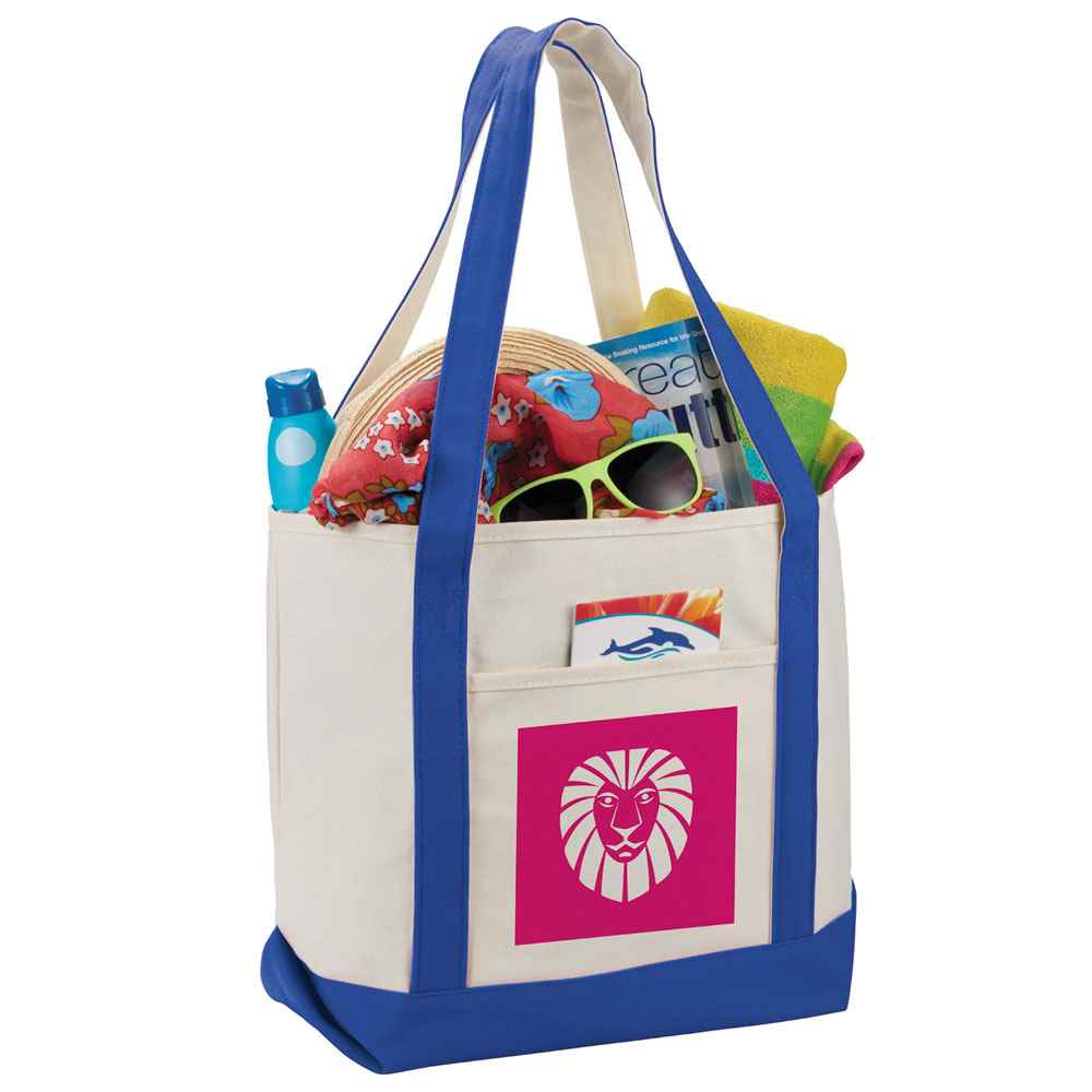 Classic 12-Oz. Cotton Canvas Boat Tote - Personalization Available